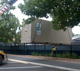 Adelaide zoo container installation